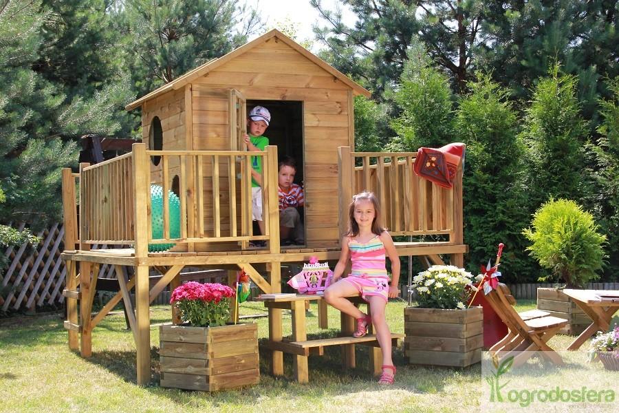 dzieci cy domek z platform marek. Black Bedroom Furniture Sets. Home Design Ideas