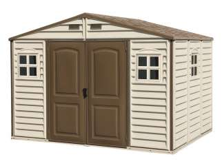 Duży plastikowy domek Duramax WoodSide 10,5x8
