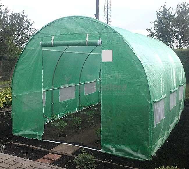 metalowy tunel ogrodniczy 3x4 5m. Black Bedroom Furniture Sets. Home Design Ideas