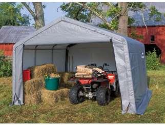 Namiot garażowy ShelterLogic 3,7 x 3,7 m szary