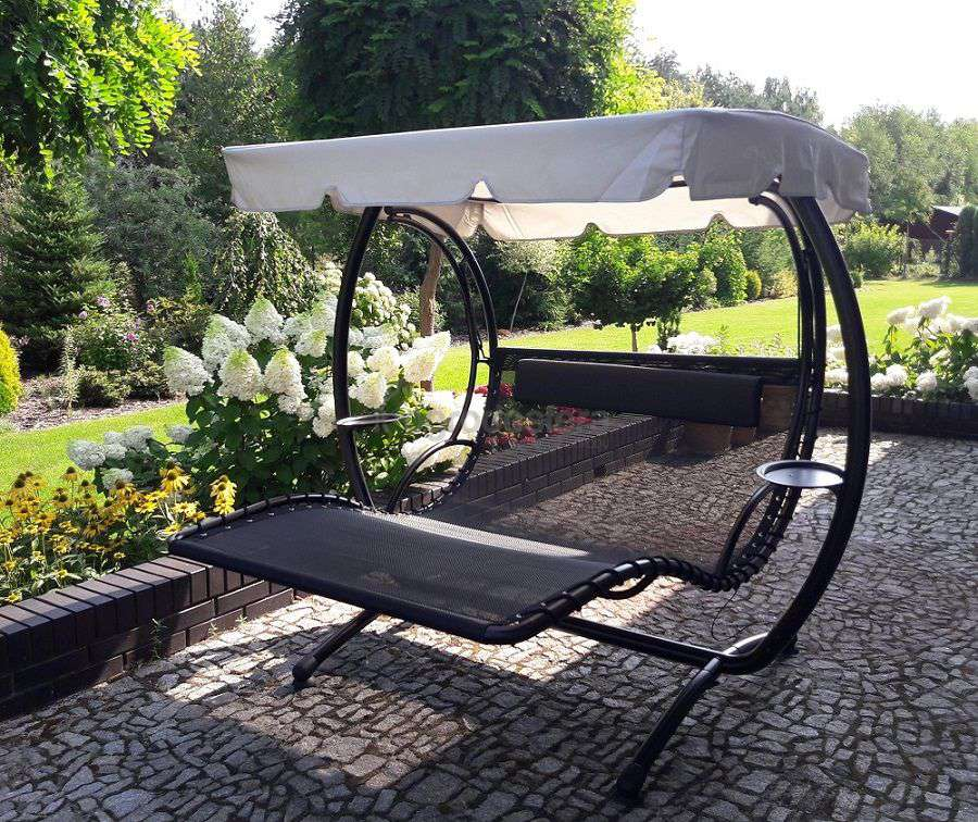 4bf855140abcac ... Huśtawki ogrodowe - Dwuosobowa huśtawka ogrodowa Napoli - zdjęcie od  klienta ...