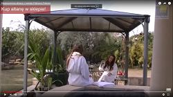 Film - Nowoczesna altana z metalu Palermo
