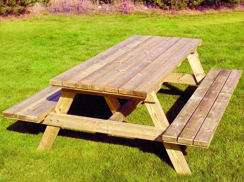 Drewniany Stół Piknikowy Kacper