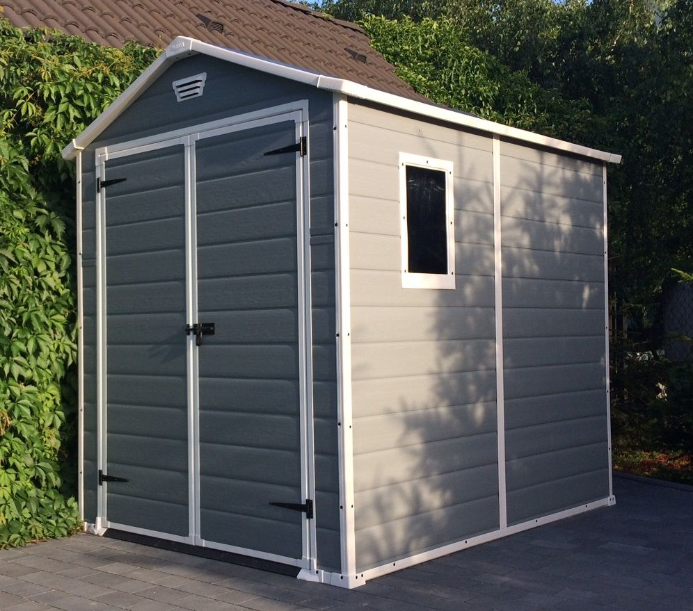 100 Keter Manor Shed Grey 100