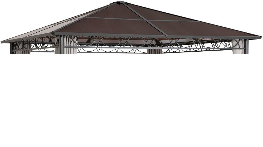 Poliwęglanowe Pokrycie Dachu Pawilonu Madera 3 X 3m Szare