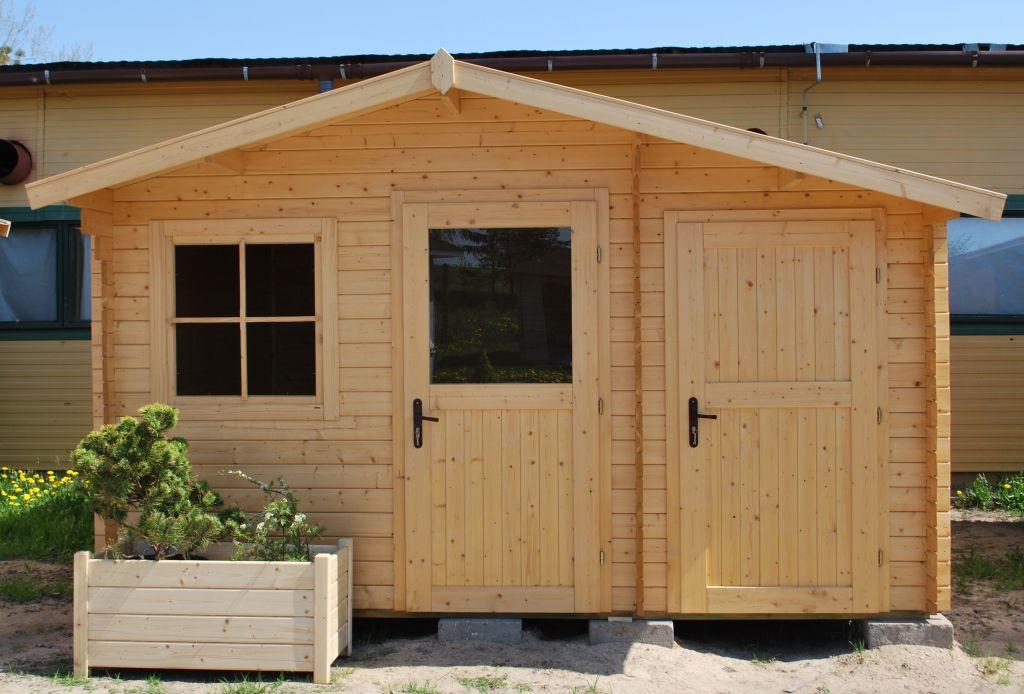 Drewniany Domek Dzialkowy Zawilec Ogrodosfera