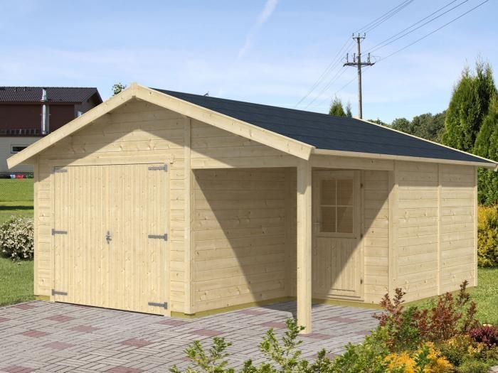 Garaż Z Pomieszczeniem Gospodarczym Merson Mix Ogrodosferapl