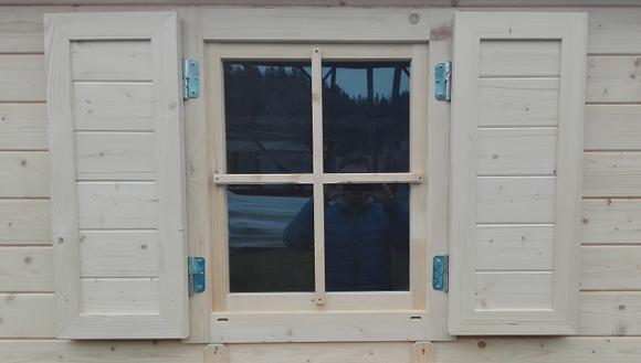 Drewniane Okiennice Do Domków Narzędziowych Megiw