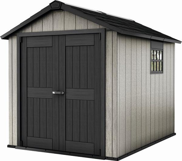 plastikowy domek na rowery lub narz dzia keter oakland 759. Black Bedroom Furniture Sets. Home Design Ideas