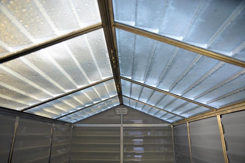Domek Narzędziowy Palram Skylight 6x10 Tan Ogrodosfera Pl