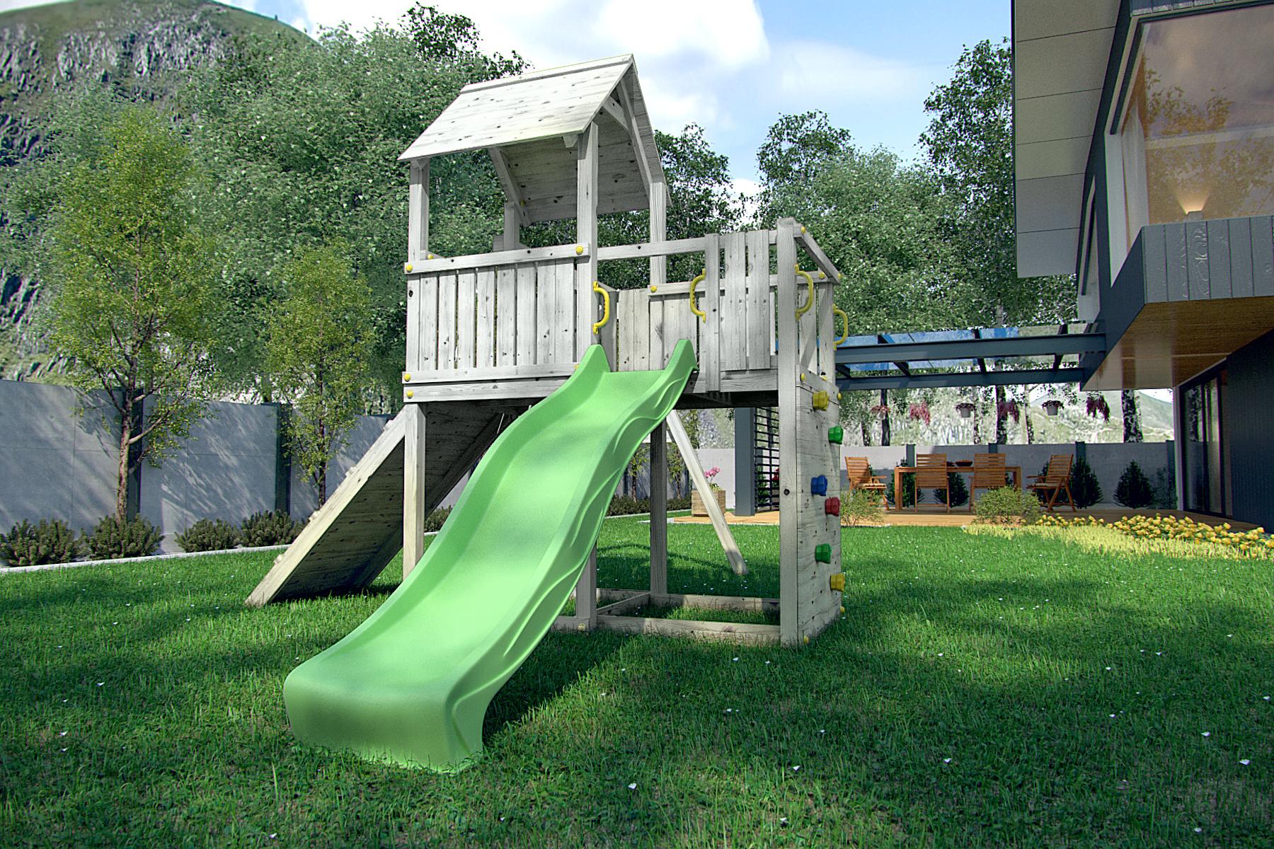 przydomowy plac zabaw dla dzieci carol 3b. Black Bedroom Furniture Sets. Home Design Ideas