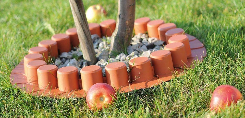 Palisada ogrodowa ipal7 terakota - Bordure per giardino plastica ...