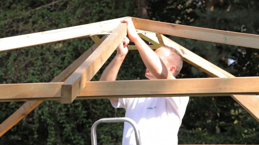 Jak Zbudować Altanę Ogrodową Z Drewna Montaż Krok Po Kroku