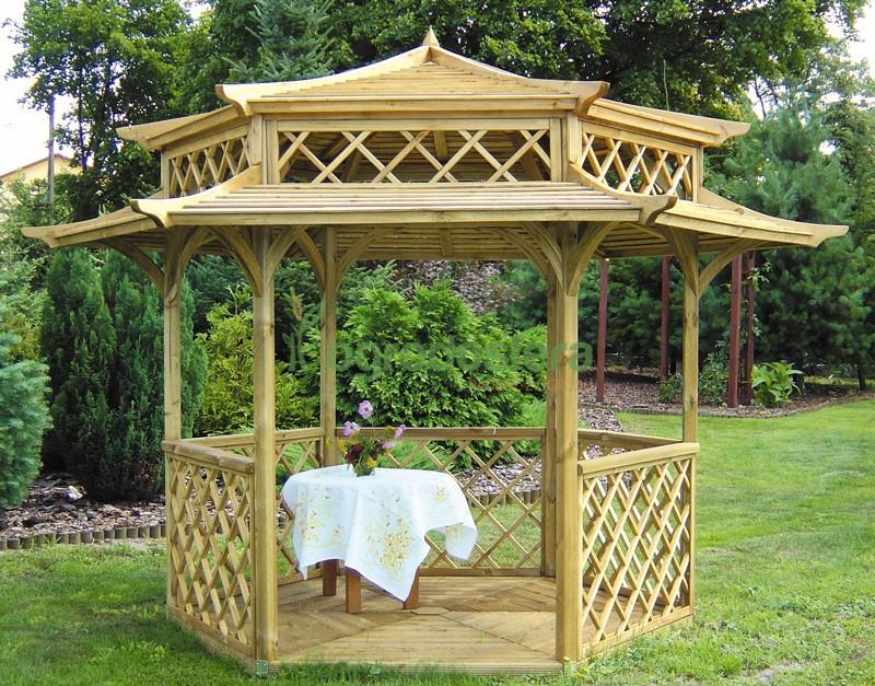 Altany Drewniane Ciekawe Elementy Małej Architektury