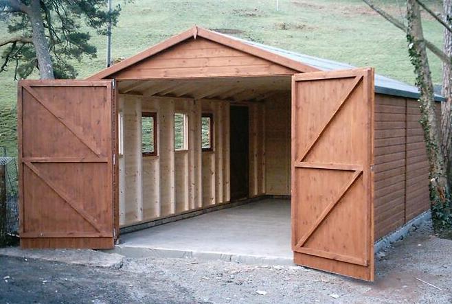 Który Gotowy Garaż Drewniany Wybrać